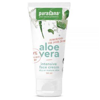 Purasana Aloë Vera Intensieve Gezichtscrème Bio 50 ml