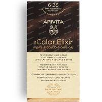 Apivita My Color Elixir Kit 6.35 Dark Blonde Gold Mahogany 50+75 ml