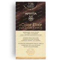 Apivita My Color Elixir Kit 7.35 Blonde Gold Mahogany 50+75 ml