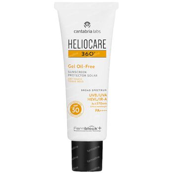 Heliocare 360° Gel Oil-Free Dry Touch SPF50 50 ml