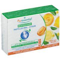 Puressentiel Ademhaling Pastilles Honing-Citroen 18  pastille