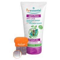 Puressentiel Anti-Luizen Verzorgende Shampoo 2 in 1 met Kam 150 ml