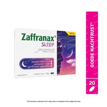 Zaffranax Sleep - Slaap, Vermoeidheid, Stress 20 tabletten