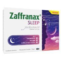 Zaffranax Sleep - Sommeil, Fatigue, Stress 40  comprimés