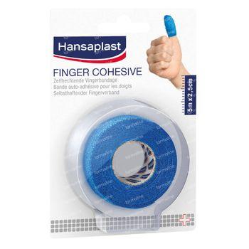 Hansaplast Bande Auto-Adhésive pour les Doigts 5 m x 2,5 cm 1 pièce