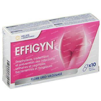 Effigyn Vaginale Capsules 10 pièces