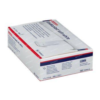 Leukoplast Soft White 19x72mm 7645003 100 pièce