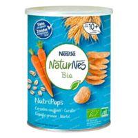 Nestlé NaturNes Bio NutriPops Gepofte Granen - Wortel 35 g