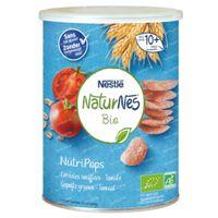 Nestlé NaturNes Bio NutriPops Gepofte Granen - Tomaat 5x35 g