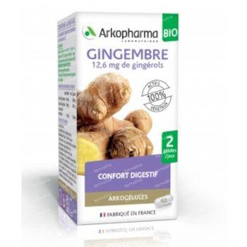 Arkocaps Gingembre Bio 40 capsules