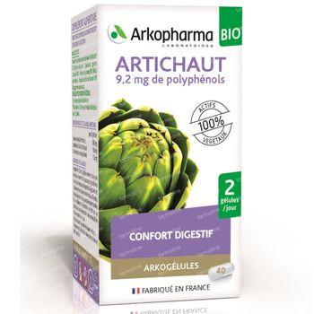 Arkocaps Artichaut Bio 40 capsules
