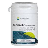 Springfield MenaQ7 Full Spectrum Vitamine K2 90mcg Menaquinone 6-9 60  capsules