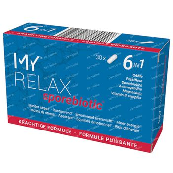 My Relax Sporebiotic 30 capsules