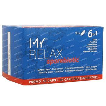 My Relax Sporebiotic 90 capsules