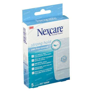 Nexcare Strong Hold Pansements 50 x 101 mm 5 pièces
