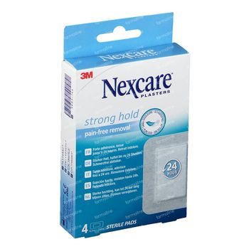 Nexcare Strong Hold 24h 4 pièces