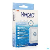 Nexcare Strong Hold 24h 4 stuks