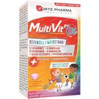 Forte Pharma MultiVit' 4G Kids Weerstand 30  kauwtabletten