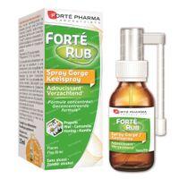 Forté Pharma FortéRub Keelspray - Verzachtend 15 ml
