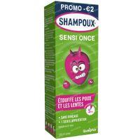 Shampoux Sensi-Once Anti-Poux & Lentes Spray Sans Rinçage 100 ml