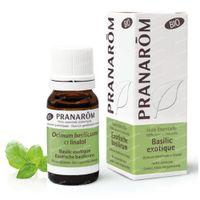 Pranarôm Huile Essentielle Basilic Exotique-Linanol Bio 10 ml