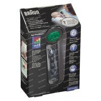 Braun No-Touch zonder Contact + Voorhoofdthermometer Age Precission Zwart BNT400BWE 1 stuk
