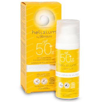 Helixium Zonnecrème Gelaat SPF50+ Bio 50 ml
