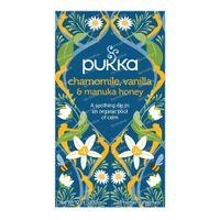 Pukka Herbs Thé Chamomile & Vanilla & Manuka Honey 20 pièces
