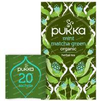 Pukka Herbs Thee Mint Matcha Green 20 stuks