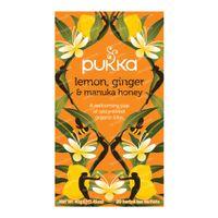 Pukka Herbs Thé Lemon & Ginger & Manuka Honey 20 pièces