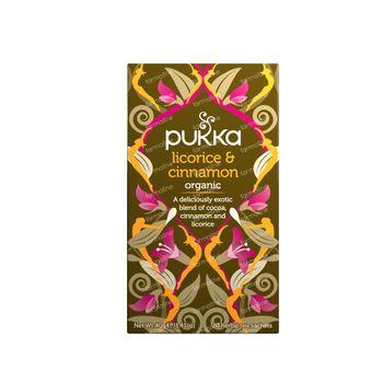Pukka Herbs Thee Licorice & Cinnamon 20 stuks