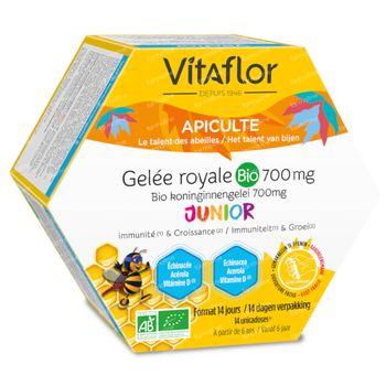 Vitaflor Gelée Royale Défense + Junior 14 unidosis