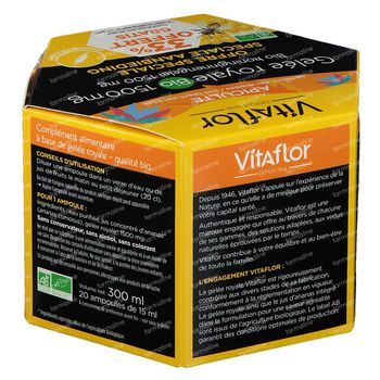 Vitaflor Koninginnengelei Bio 1500mg 20 ampoules