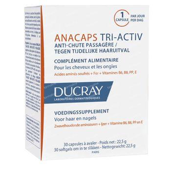 Ducray Anacaps Tri-Activ Anti-Chute Passagère 30 capsules