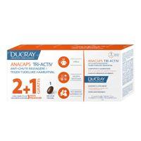 Ducray Anacaps Tri-Activ tegen Tijdelijke Haaruitval TRIO 3x30  capsules