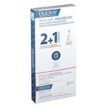 Ducray Anacaps Progressiv Anti-Chute Progressive TRIO 3x30 capsules
