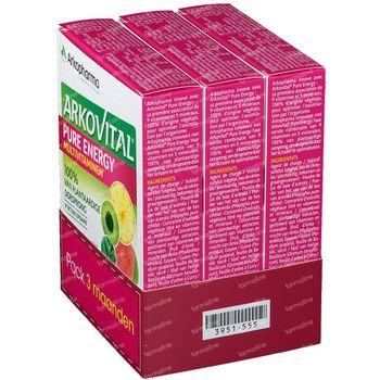 Arkovital Pure Energy 3 Maanden 3x30 tabletten