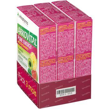 Arkovital Pure Energy 3 Mois 3x30 comprimés