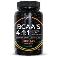 QNT BCAA'S 4:1:1 + L-Glutamine 5000mg 180  tabletten