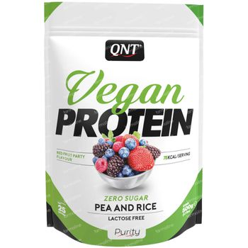 QNT Vegan Protein Rood Fruit 500 g