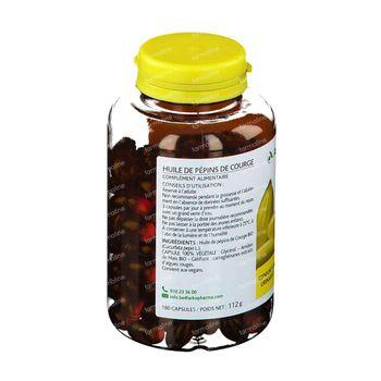 Arkocaps Huile de Pépin de Courge Bio 180 capsules