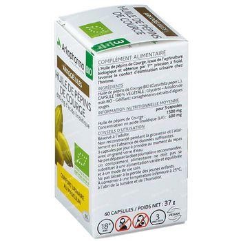 Arkogélules Huile De Pepins De Courge Bio 60 capsules