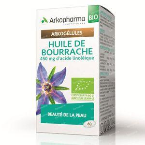 Arkogélules Huile Bourrache Bio 60 capsules