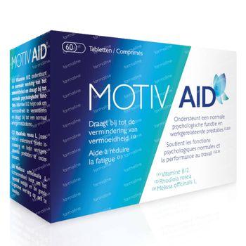 Motiv Aid - Fatigue & Performances au Travail 60 comprimés