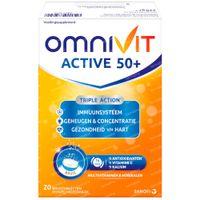 Omnivit Active 50+ - Immuniteit & Energie 20  bruistabletten