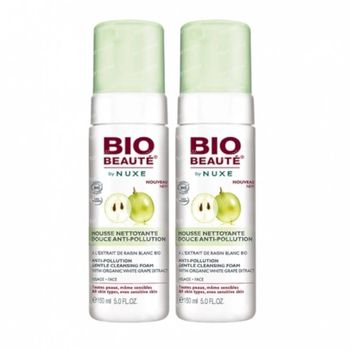 Bio Beauté by Nuxe Reinigende Micellaire Mousse met Sinaasappelwater DUO 2x150 ml