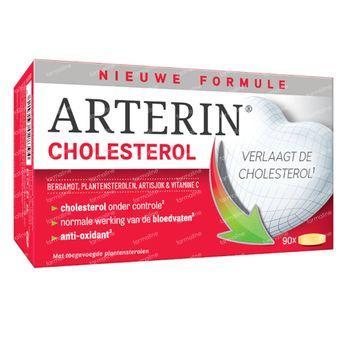 Arterin® Cholesterol - Zonder Rode Gist Rijst en Statines, Goede Tolerantie 90 tabletten