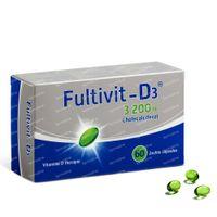 Fultivit-D3 3200 I.E. 60  capsules