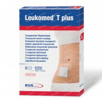 Leukomed T Plus Skin Sensitive 8x15cm 5 stuks