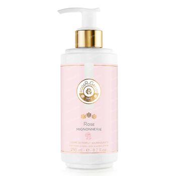 Roger & Gallet Crème de Parfum Nourrissante Rose Mignonnerie 250 ml